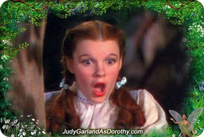 Judy Garland as Dorothy became a big hit in The Wizard of Oz (1939)