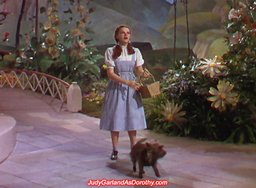 Judy Garland as Dorothy became an instant hit after starring in The Wizard of Oz