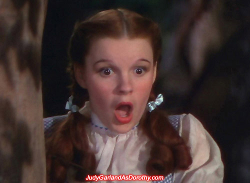 Judy Garland as Dorothy made an impact with her charm and talent