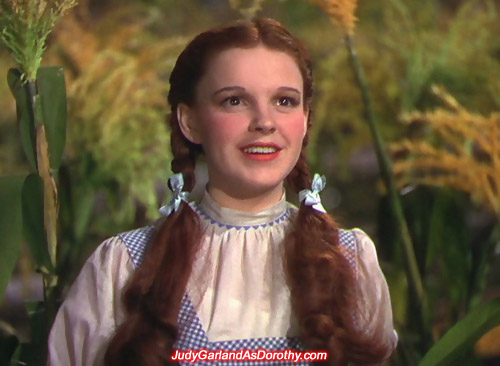 A bright-eyed and cheerful Judy Garland as Dorothy reached new heights on screen