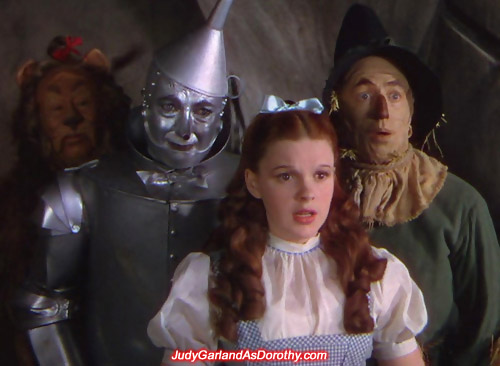 Judy Garland as Dorothy was the leader of the pack