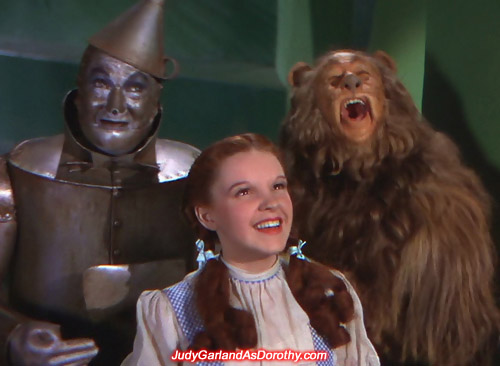 Screen sensation Judy Garland as Dorothy took Hollywood by storm
